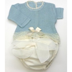 Baby sweater+Diaper cover Md.1369