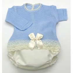 Baby sweater+Diaper cover Md.1370