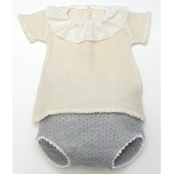Sweater+diaper cover Md.1398