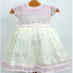 Vestido combinado Md.1350