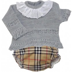 Sweater+Diaper cover Md.1236