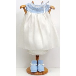 Dress+nappy+booties Md.1344