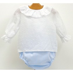 Diaper cover+shirt Md.1354