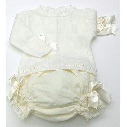 Sweater+diaper cover Md.1410