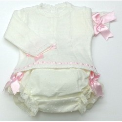 Sweater+diaper cover Md.1411