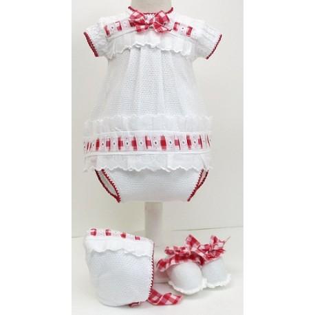 Vestido+braga+capota Md.1499