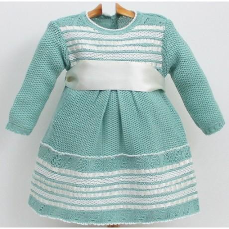 vestido de pasamanería