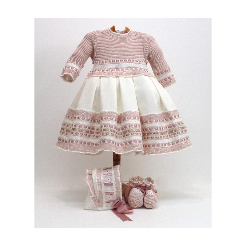 Vestido+capota+patucos Md.1714