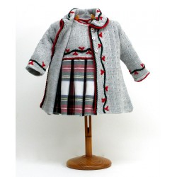 Abrigo y vestido Md.1811