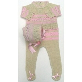 Baby sweater with leggings...
