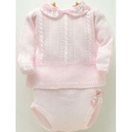 Baby sweater+Diaper cover Md.1013