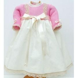 Vestido combinado Md.1575