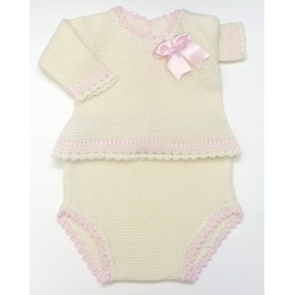 Baby sweater+Diaper cover Md.1070