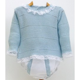 Sweater+Diaper cover Md.1081