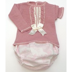 Sweater+Diaper cover Md.1191