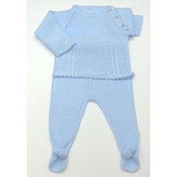 Baby sweater with leggings Mod.1192