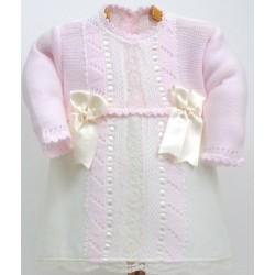 Vestido combinado Md.1219