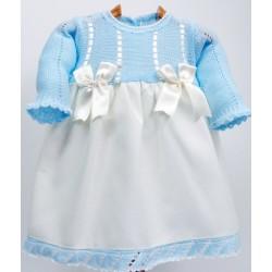 Vestido combinado Md.1215