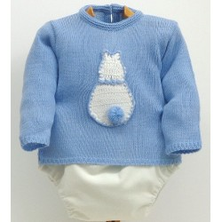 Sweater+diaper cover Md.1240