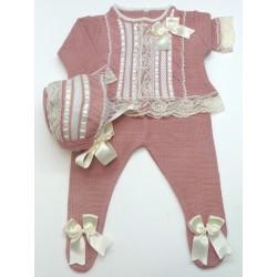 Sweater+Leggings+Bonnet Md.1098