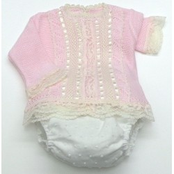 Sweater+diaper cover Md.1258
