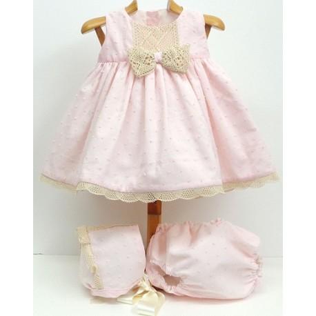 Vestido+braga+capota Md.1334