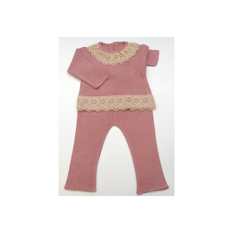 913d5ddaf636 Baby sweater+Trousers Md.1484 - www.zaidainfantil.com